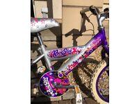 "Girls 16"" Concept Rock Star Bike"