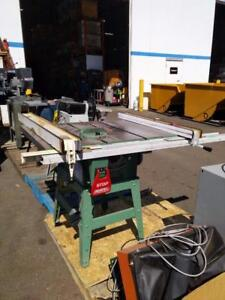 General 50-185 - 10' Deluxe Builder's Table Saw