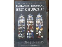 England's Thousand best Churches by Simon Jenkins, new