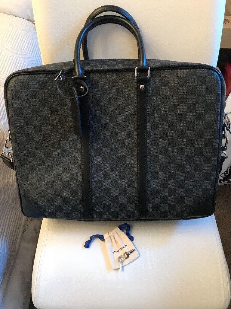 fb87db4b882e louis vuitton damier graphite porte-documents voyage gm briefcase bag