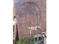 Garden Galvanised Steel driveway gate, also wrought iron gate