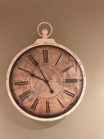 Shabby chic vintage style clock