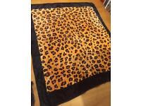 Mink Blanket (Leopard print)