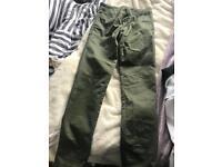 Carhart trousers 28 waist