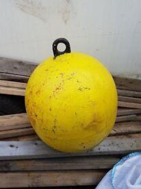 yellow bouy for sale 60 x3 steel bouy