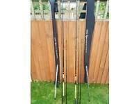 Shimano vengence classic barbel rods x 2