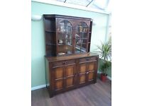 1951 wooden display cabinet / sideboard