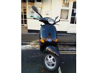Piagio vespa 50cc scooter moped super low milage