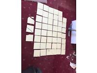 Original 1950s ceramic tiles