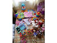 Toys, Teddies & Baby Items - Job Lot