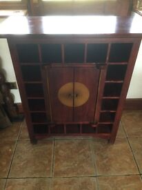 Solid Wine Cabinet