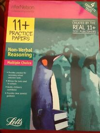 LETTS 11+ PRACTICE PAPERS NON-VERBAL REASONING Multiple Choice
