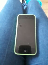 Light green iphone 5c