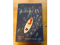 Life of Pi by Yann Martel. Best selling book and film. 80p