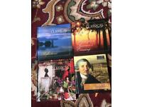 4 Classical CDs with Listeners Guide books just £3 the lot.