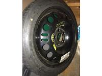 Space saver spare Wheel Vauxhall Vectra C