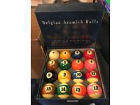 Super Aramith Pro - Pro Cup - American Pool Balls (RRP £150)