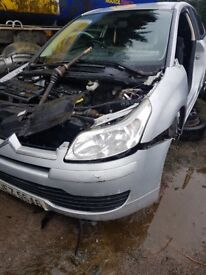 2005 CITROEN C4 COUPE 1.4 16V PETROL BREAKING FOR PARTS