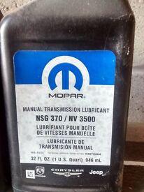 For sale Mopar Manual Transmission Oil NSG370/ NV 3500