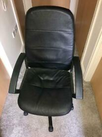 Office Executive style chair, recline, height adjust