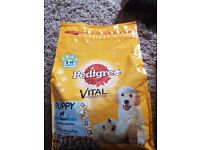 8 bags of pedigree vital protection puppy food