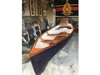 boat 14 ft row boat fully refurbished