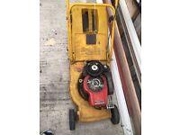 Al-Ko Kober Petrol Lawn Mower Heavy duty 2 stroke
