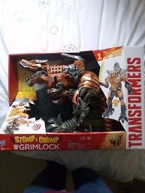 Big Transformers toy stomp chomp grimlock