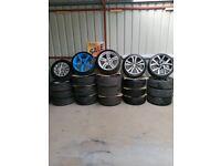 16 18 19 bmw vw alloy wheels