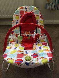 Mama's and Papas - excellent condition - vibrating bounce chair