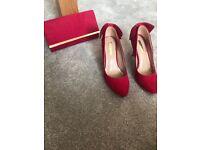 Shoe/bag matching combo