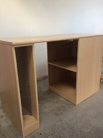 Alstons Wooden Computer Desk Caninet With CD Rack and Shelves
