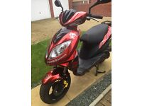Beeline Veloce gt 49 cc scooter/moped 3300 miles stunning custom painted,