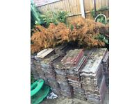 Romford: Used Marley Eternit roof tiles (600+) for sale. Pickup only. Sold as-is.