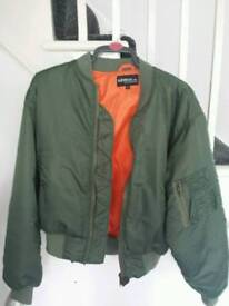 Mens flight jacket.