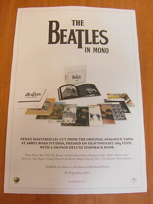 THE BEATLES IN MONO [ORIGINAL POSTER] *NEW*