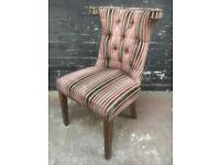 Fabulous quality button back parlour chair