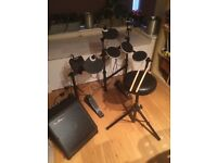 Alesis DM Lite electronic drum kit and SubZero amplifier
