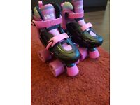 SFR kids Quad Adjustable Roller Skates Size 8-11