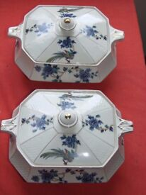 Mayfair Pottery Longton Serving plates and Terrine