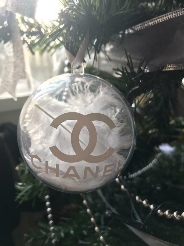 Chanel Christmas Ornaments.Chanel Christmas Baubles In Ipswich Suffolk Gumtree