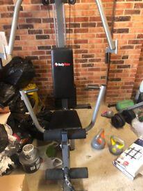 Multi gym hardly used
