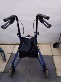 3 wheeled walker - light weight £10