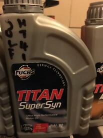 For sale brand new titan super syn motor oil 0w-30 only 5 pound