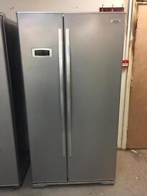 BEKO silver good looking frost free A-class American style fridge freezer