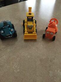 Bob the builder toys x3