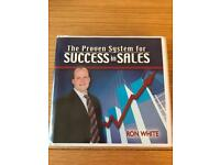 The Proven System for Success in Sales by Ron White. 8 CD Set