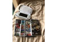 PSP and 4 games