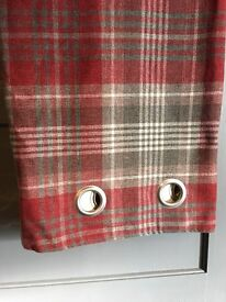 Next lined Curtains 66x90