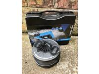 Camping gas cooker + pots